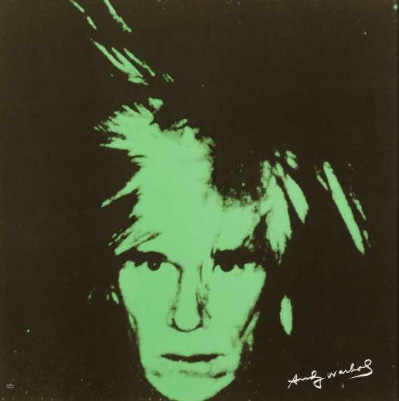 """Andy Warhol - Rosenthal Wand-Objekt """"Andy Warhol"""""""