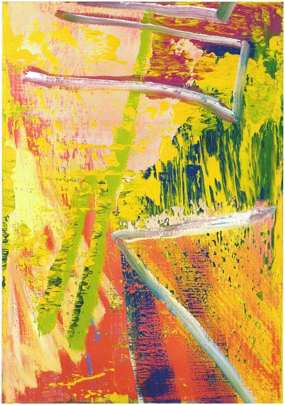 Gerhard Richter - Abstraktes Bild