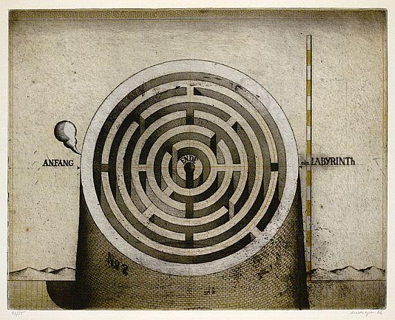 Friedrich Meckseper - Labyrinth