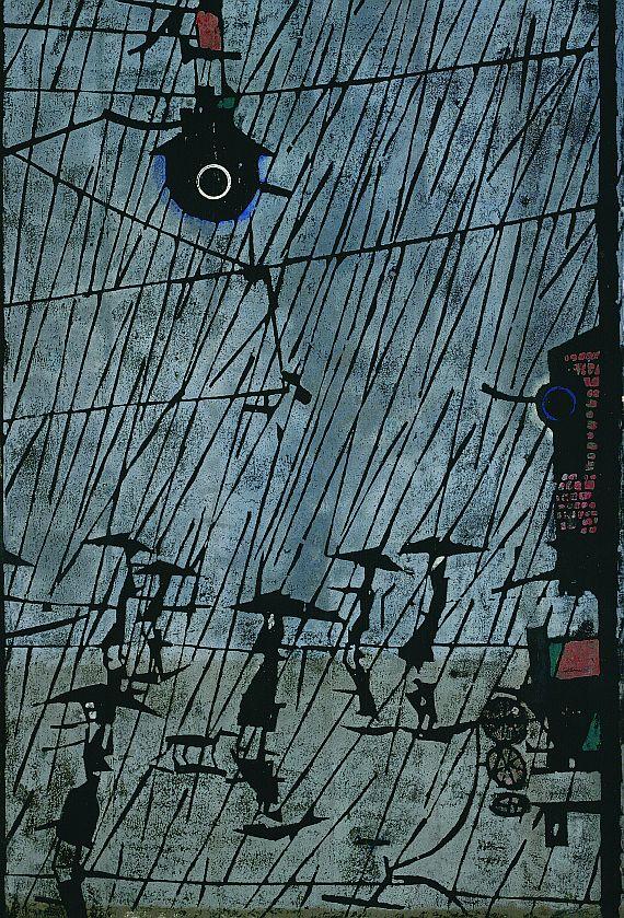 Horst Janssen - Großer Regen I