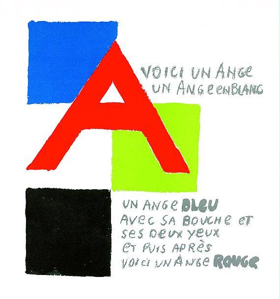 Sonia Delaunay-Terk - 27 Bll. in: L´alphabet