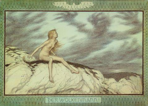 d.i. Hugo Höppener Fidus - Der Wolkenmann !