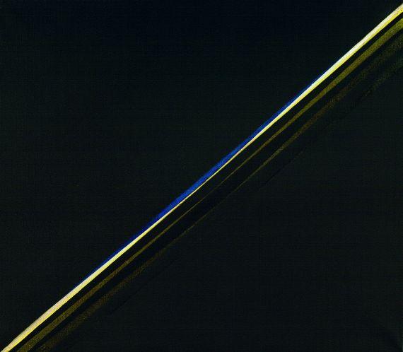 Lothar Quinte - Schlitzbild diagonal