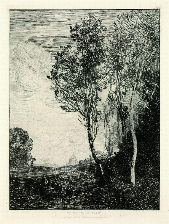 Jean-Baptiste-Camille Corot - Souvenir d'Italie