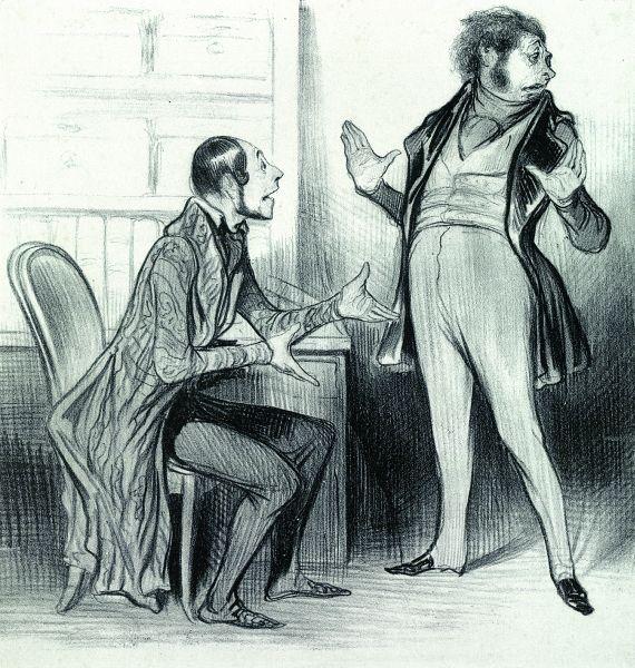 Honoré Daumier - 21 Bll. aus verschiedenen Folgen