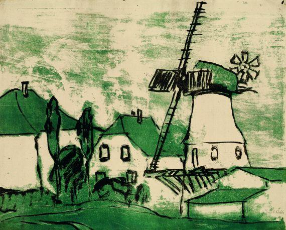 Emil Nolde - Windmühle