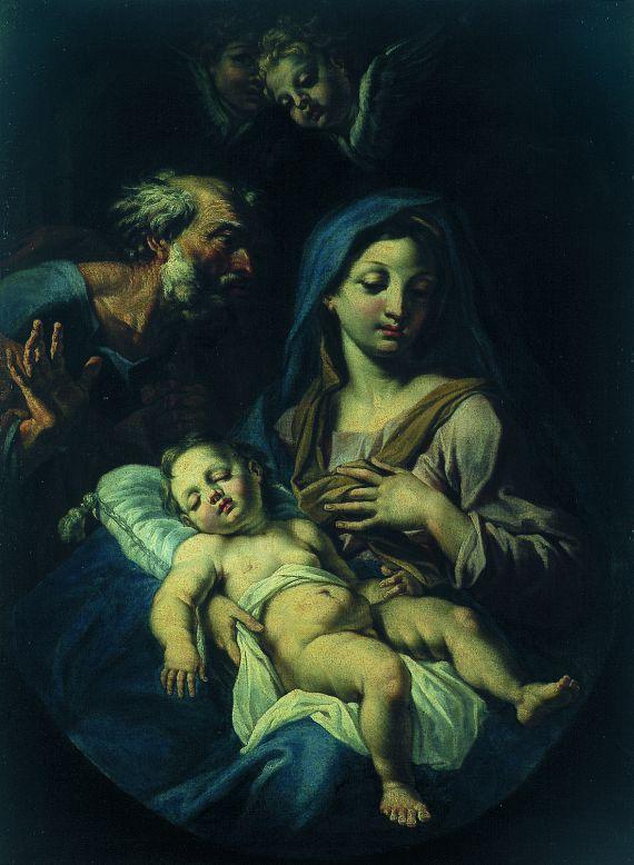 Onofrio Avellino - Umkreis - Die Heilige Familie