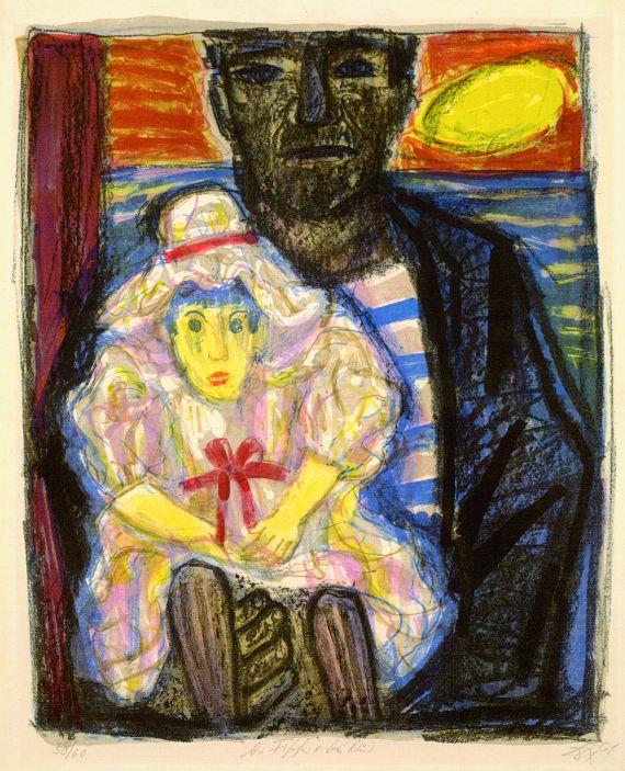 Otto Dix - Der Fischer und das Kind