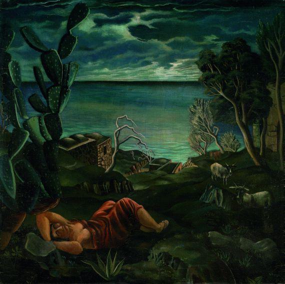 Carlo Mense - Göttliche Küste - Positano
