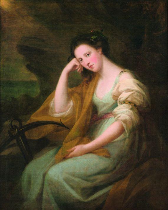 Angelica Kauffmann - Porträt der Lady Louisa Macdonald