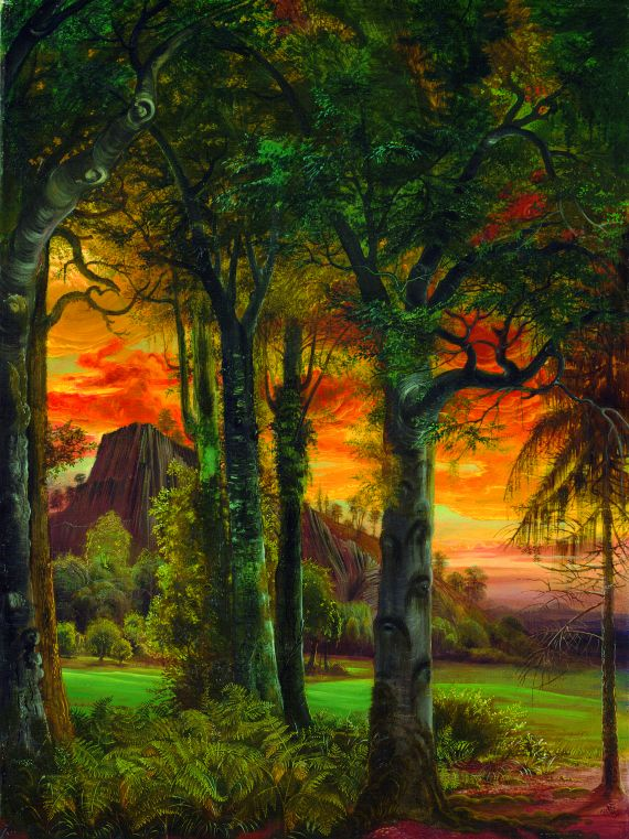 Otto Dix - Wald am Abend