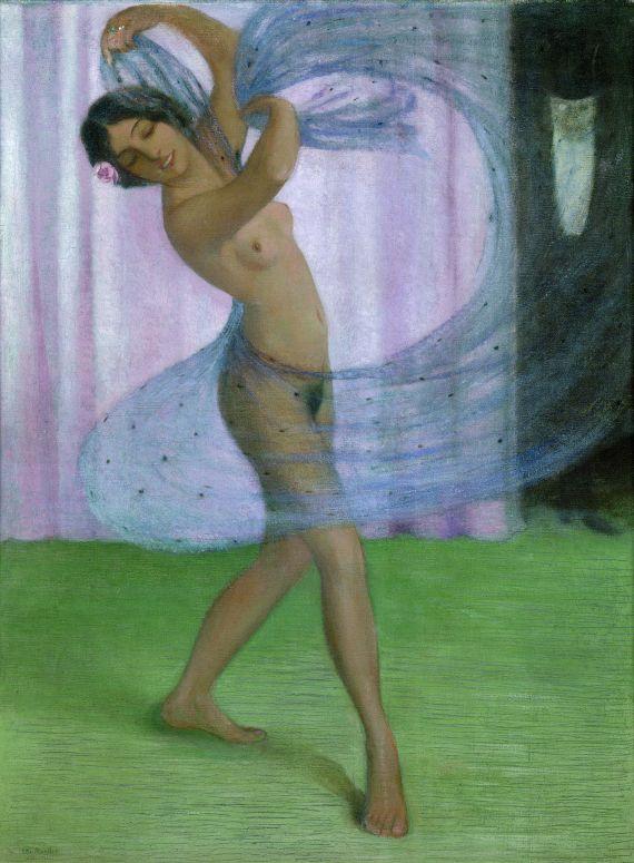 Otto Mueller - Tänzerin mit Schleier