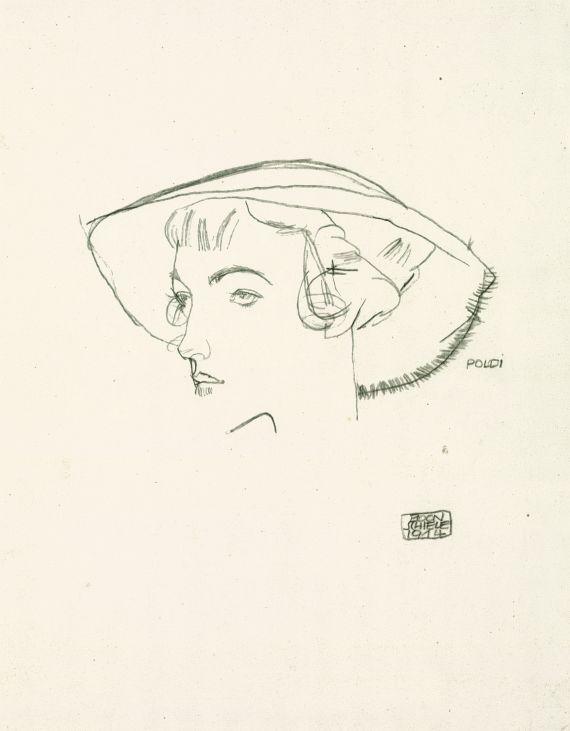 Egon Schiele - Poldi