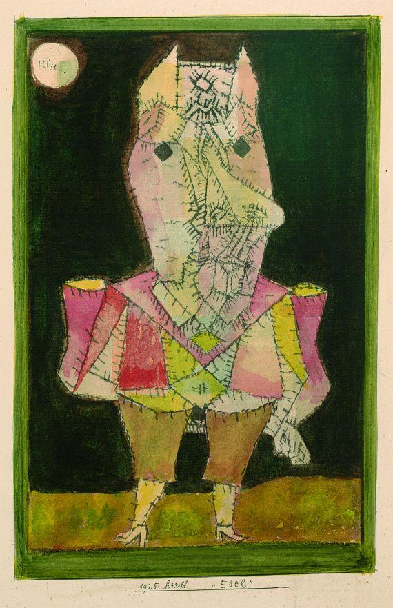 Paul Klee - Esel