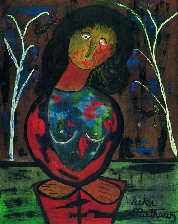Niki de Saint Phalle - Frauenporträt