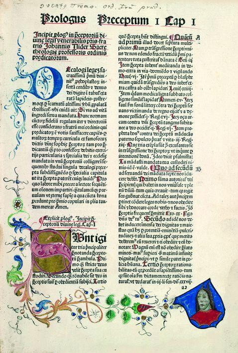 Johannes Nider - Praeceptorium divinae legis. 1481.