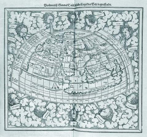 Sebastian Münster - Cosmographey. 1598.