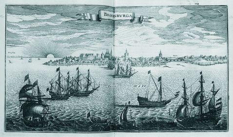 Matthäus (der Ältere) Merian - Brandenburg. 1680. 2. Ausg.