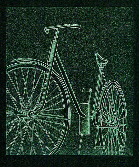 Konrad Peter Cornelius Klapheck - Fahrrad II (Schicksal)