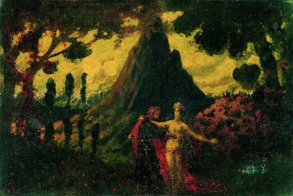 Melchior Lechter - Legenda Peregrina