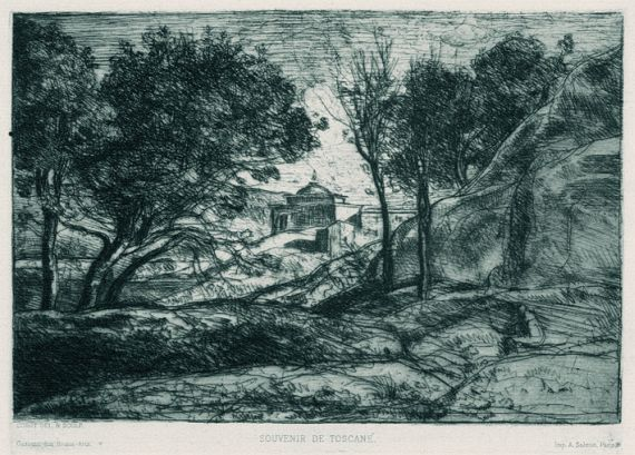 Jean-Baptiste-Camille Corot - Souvenir de Toscane