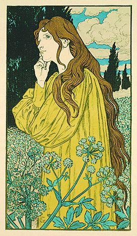 Eugène Samuel Grasset - Méditation