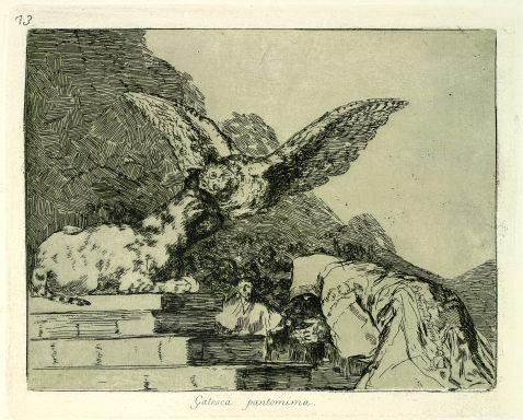 Francisco de Goya - Folge von 80 Bll. Los Desastres de la Guerra