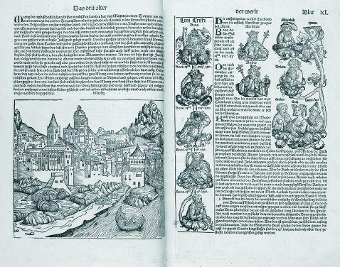 Hartmann Schedel - Buch der Chroniken. Dez. 1493. Dt. Ausg.
