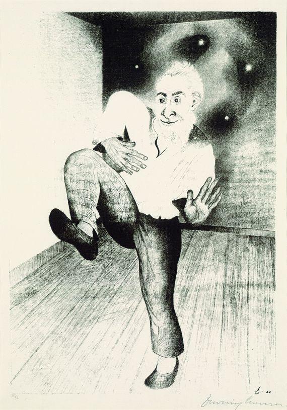 Heinrich Maria Davringhausen - Tanz des Irren