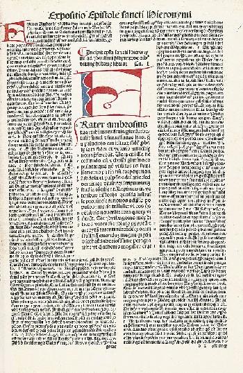Sebastian Brant - Biblia latina. Basel 1498.