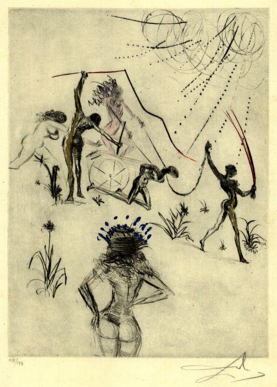 Salvador Dalí - Les Négresses