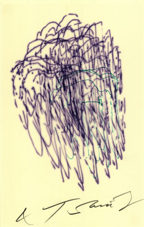 Jean Tinguely - 2 sheets: Meta-Matic