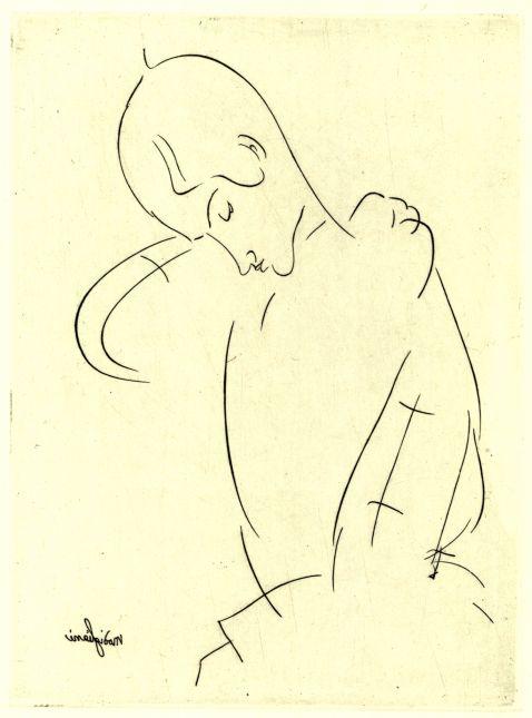 Amedeo Modigliani - Knabenporträt (Brustbild)