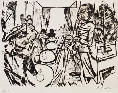 Max Beckmann - Weihnachten 1919