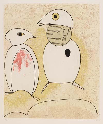 Max Ernst - Au printemps il se pare d'une notion nuptiale