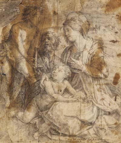 Andrea del Sarto - Heilige Familie