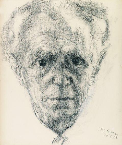 Paul Citroen - Porträt Bruno Adler