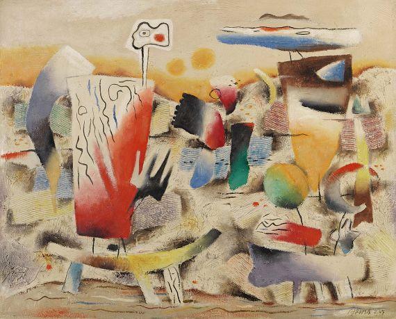 Willi Baumeister - Expressive Landschaft