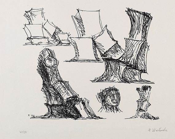 Fritz Wotruba - Ohne Titel