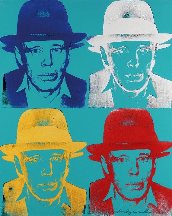 andy warhol joseph beuys - Andy Warhol Lebenslauf