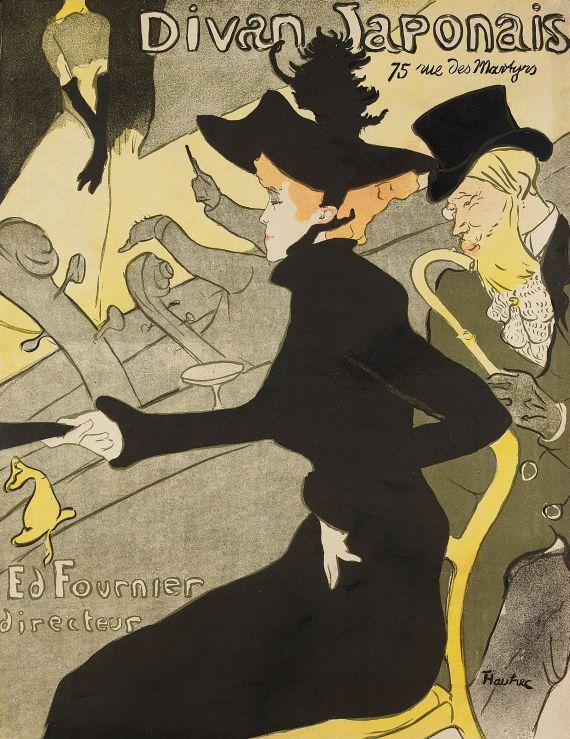Henri de Toulouse-Lautrec - Divan Japonais