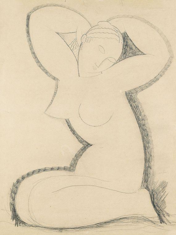 Amedeo Modigliani - Cariatide