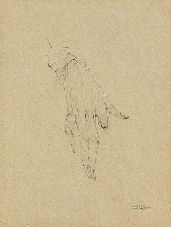 Hans Bellmer - Handstudie