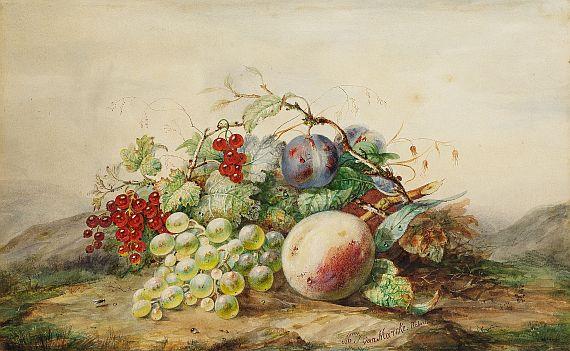 Julie Palmyre van Marcke - Früchtestillleben