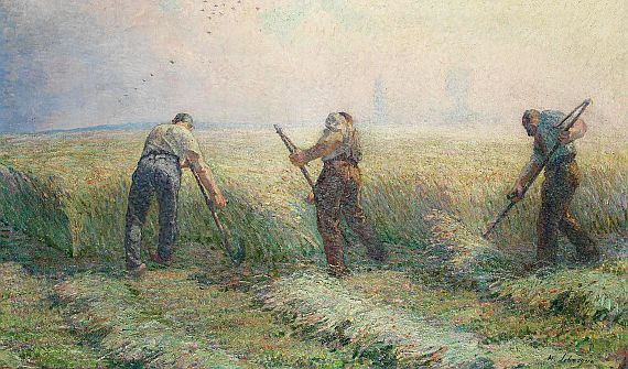 Henri Lebasque - Moissonneurs aux environs de Lagny (Die Schnitter)