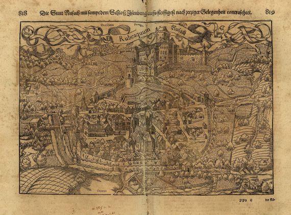 Sebastian Münster - Cosmographia. 1628.