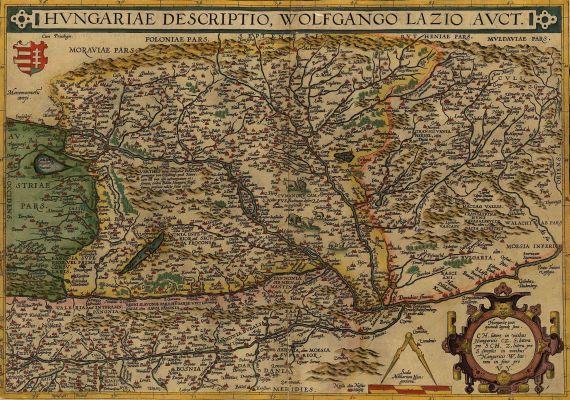 Abraham Ortelius - Hungariae descriptio.