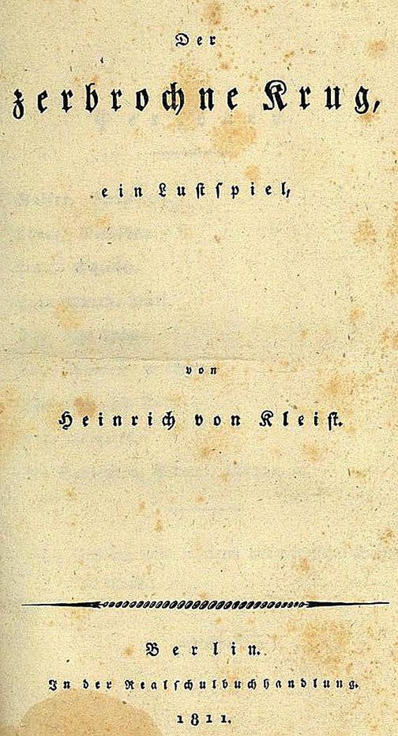 Heinrich von Kleist - Der zerbrochne Krug