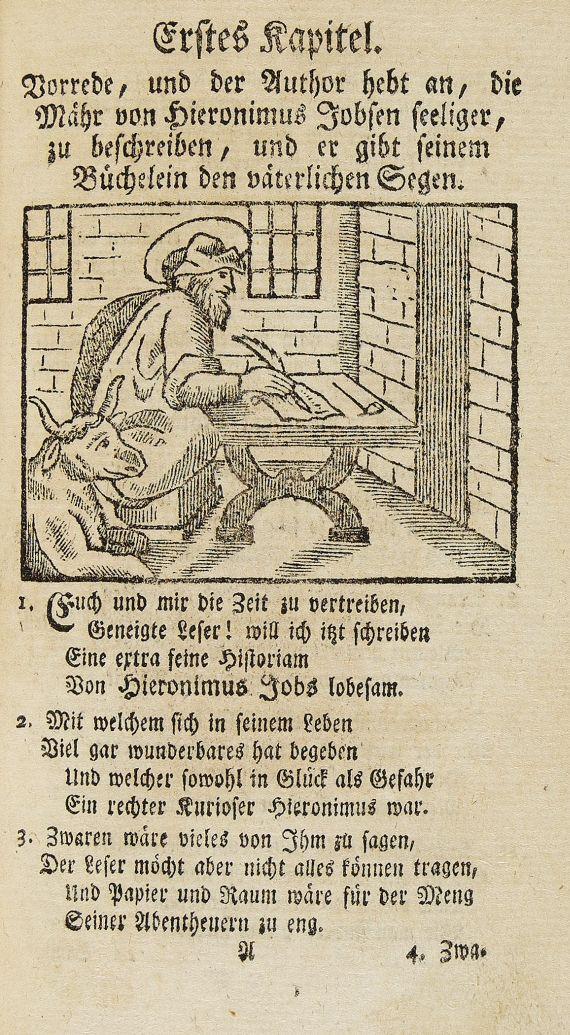 Carl Arnold Kortum - Leben Hieronimus Jobs. 1784.