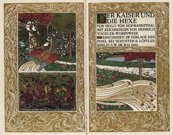 Hugo von Hofmannsthal - Der Kaiser und die Hexe. 1900.